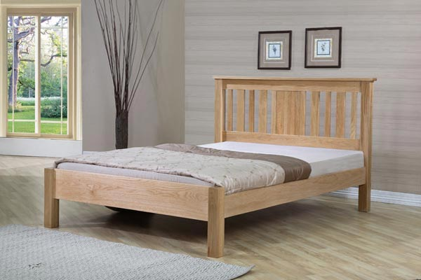 Oregon American Oak Bedstead Single..........£279 Double........ £349 King.............£395 Super King...£449